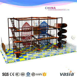 Indoor Kids Rope Course Equipment