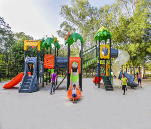 Primeval forest series of outdoor playground