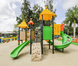 Outdoor playground in Santo Tomas