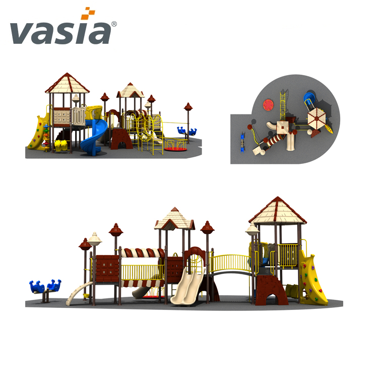 cheap outdoor playground equipment playsets For Kids VS2-161201A-32