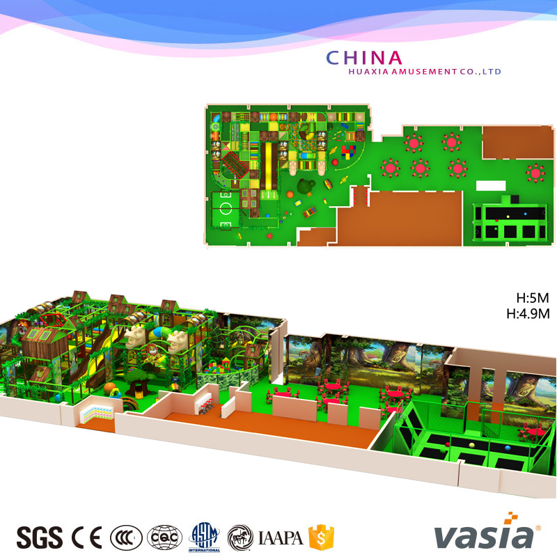 Children indoor playground VS1-160116-430A-33