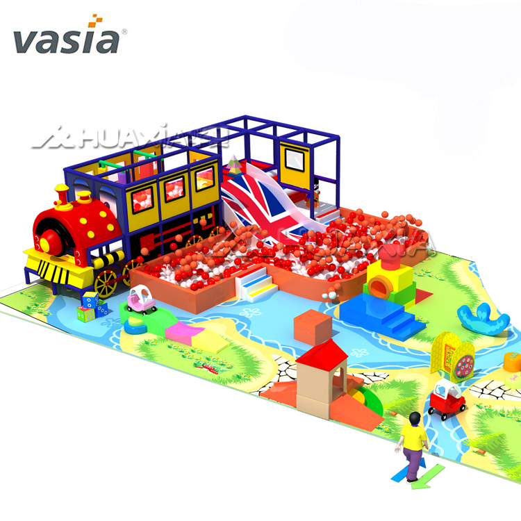 Train children indoor playground