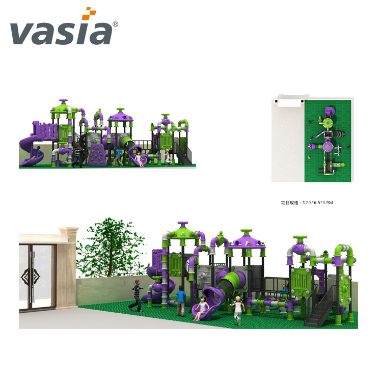 Factory Price Preschool Outdoor Playground Equipment For Sale Kindergarten VS2-160718-01-32