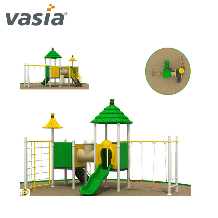 EN funny toys big slide Outdoor playground equipment VS2-160109-32