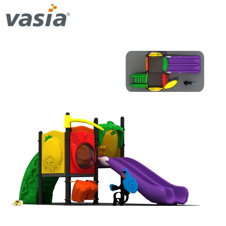 Customized plastic kids outdoor playground,outdoor playground set equipment for amusement park VS2-160229A-32