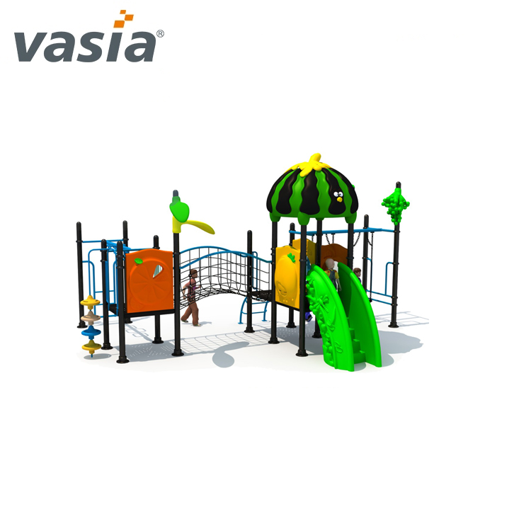 Factory sale amusement park newly different design outdoor playground exercise slide VS2-59-64-9