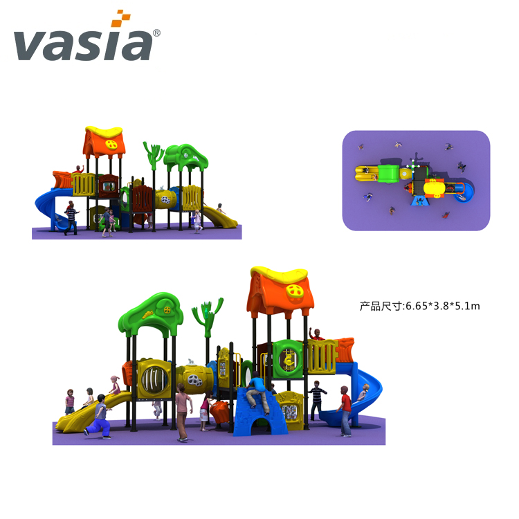 Children park equipment items playground outdoor climbing frame for sale VS2-160919-03-32