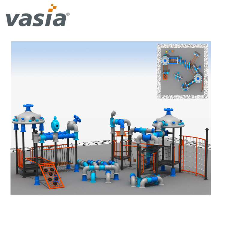 Children park equipment items playground outdoor climbing frame for sale VS2-161221-01-32