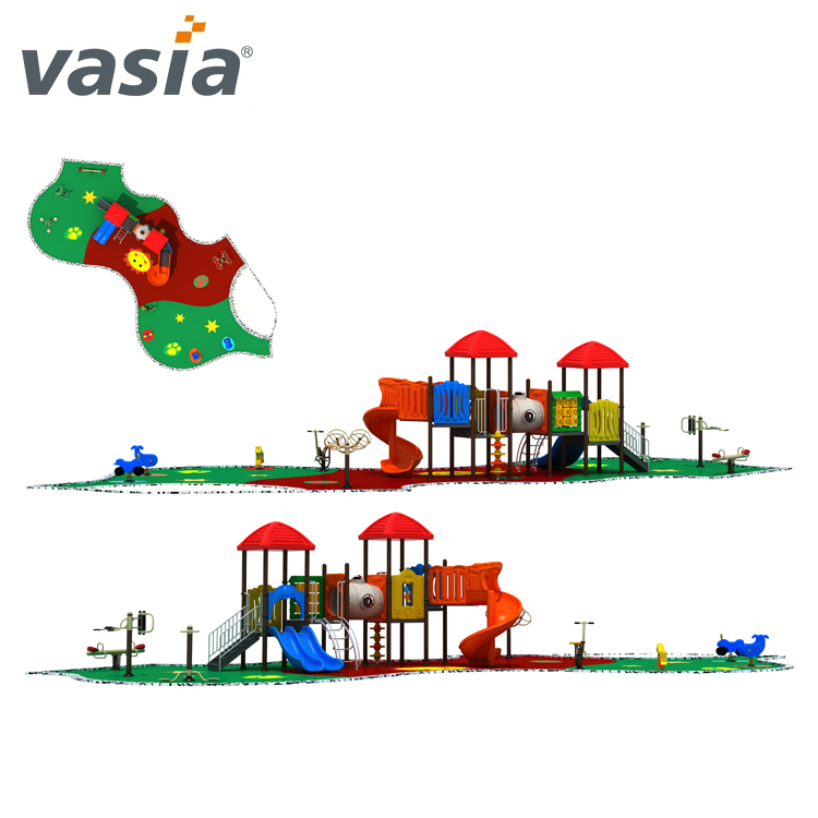 Best quality children primary outdoor playgrounds amusement park VS2-170330D-32