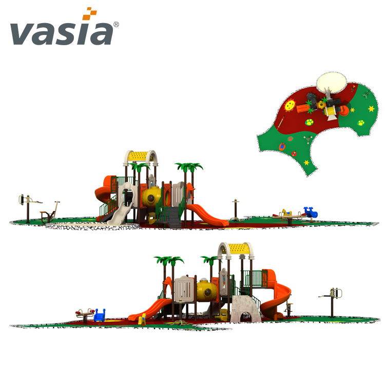 China Environmental fun safe outdoor playground amusement park slide