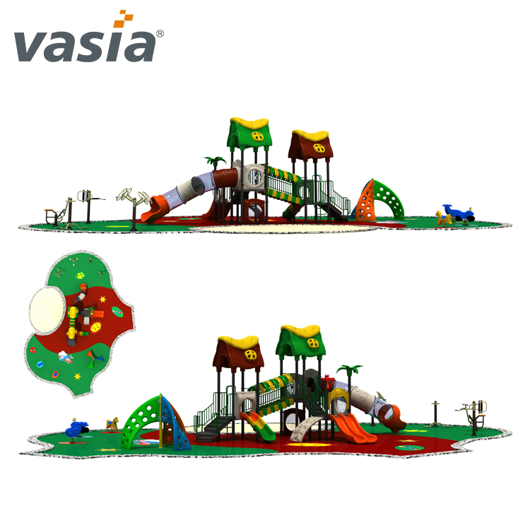 Top quality children interested colorful sunray outdoor playground VS2-170405D-32